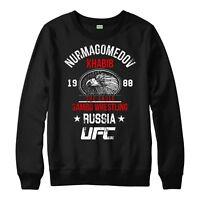 Khabib Nurmagomedov Jumper THE EAGLE Top MMA UFC Unisex Adult & Kids Jumper Top