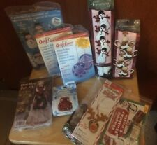 Large Lot Christmas Craft Kits-Snowmen, Angels, Ornaments, Doll, Reindeer & More