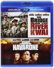 BRIDGE ON RIVER KWAI + THE GUNS OF NAVARONE Blu-Ray Double Feature NEW  Sealed