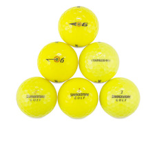 60 Bridgestone Mix Yellow Used Golf Balls / Near Mint AAAA / Free Shipping