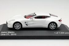 WHITEBOX - WB159 ASTON MARTIN ONE-77 WHITE 1:43 SCALE.