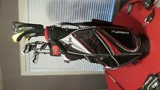 Maxfli Black Max CrossBax Complete Golf Set Irons Woods Wedges  Men Right Handed