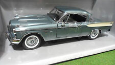 STUDEBAKER GOLDEN HAWK 1957 Bleu au 1/18 MOTOR CITY CLASSICS 80004 voiture