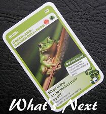 Woolworths <<AUSSIE ANIMALS>> Card 20/108 BUSH Green-and-Golden Bell-Frog