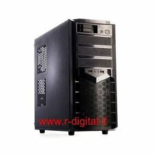 CASE ITEK PEARL GAMING MIDDLE TOWER MODDING DUAL 2 HARD DISK HOT SWAP RAID HD