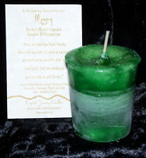 MONEY Reiki candles Crystal Journey CANDLES Herbal Magick votives Attract Cash