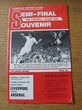 07/02/1978 Football League Cup Semi-Final: Liverpool v Arsenal  . No obvious fau