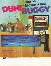 Midway DUNE BUGGY Original 1972 NOS Arcade Game Promo Sales Flyer Pre-Video Era