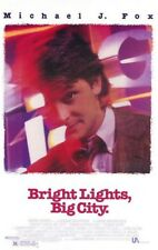 BRIGHT LIGHTS, BIG CITY Original Movie Poster One Sheet