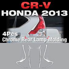 For HONDA 2012-2016 CR-V Chrome Rear Lamp Tail light Garnish Molding Trim C465