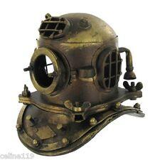 NAUTICAL DECOR  Scuba Mini Diving Divers Helmet US Navy Mark V Solid Steel