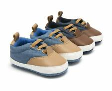 Newborn Baby Boy Crib Shoes Toddler First Step Pre Walker Casual Shoes Trainers