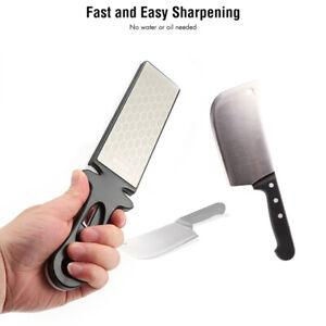 400/1000# Double Side Diamond Sharpening Stone Whetstone Ceramic Knife Sharpener