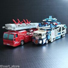 Transformer RID Omega Prime (Ultra Magnus + Optimus Prime) God Fire Convoy 100%