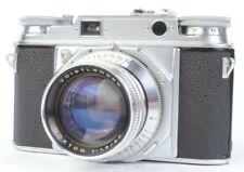 Voigtlander Prominent 35mm Film Camera w/ Nokton 50mm f/1.5 Lens and Box #E38067