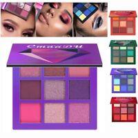 Cosmetic Matte Eyeshadow Cream Makeup Palette Shimmer Set 9 Colors Eyeshadow