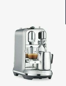 Sage Nespresso Creatista Plus Coffee Machine - Brushed Stainless Steel
