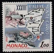 Monaco postfris 1963 MNH 740 - Ralley van Monte Carlo