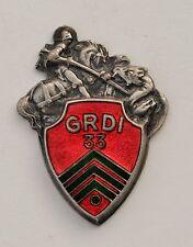 33° G.R.D.I. Groupe de Reconnaissance de Division d'Infanterie, manque l'épingle