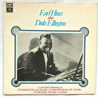 EARL HINES Plays Duke Ellington -1973 Jazz 2 x Vinyl LP Promo PCS 7160