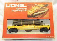 Lionel 6-9303 Union Pacific Log Dump Car O Gauge Exc Condition