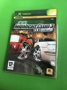 BRAND NEW & SEALED XBOX ORIGINAL GAME - MIDNIGHT CLUB 3 DUB EDITION 1p Start