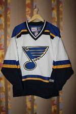 RARE NHL St LOUIS BLUES CCM HOCKEY JERSEY SHIRT SIZE S VINTAGE