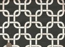 Premier Gotcha Charcoal Gray Geometric Chain Link Upholstery Drapery Fabric