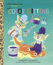 The Color Kittens (A Little Golden Book) by Margaret Wise Brown, Good Book