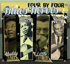 """Blues Heroes"" - Muddy Waters, John Lee Hooker, Howlin' Wolf, Little Walter 4CD"