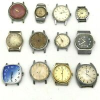 LOT of Watch Repair PARTS Original Poljot Pobeda Luch Zvezda Zaria Yunost USSR