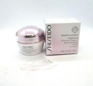 Shiseido White Lucent Brightening Protective Cream w SPF 18 ~ 1.8 oz ~ BNIB
