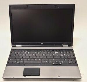 HP ProBook 6555b AMD Turion II 2.3GHz 6GB RAM 500GB HDD ATI Radeon 4200 Win10P