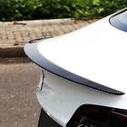 Carbon Fiber Rear Trunk Lip Spoiler Wing Fit For Tesla Model 3 Sedan 2016-2021