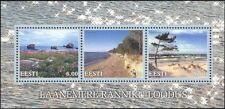 Estonia 2001 Landscapes/Seascapes/Coastline/Views/Tourism/Flowers 3v m/s  ee1128