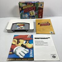 Bomberman Hero Nintendo 64 N64 Game Complete in Box Original Authentic Tested !