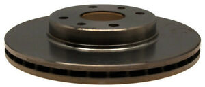 Disc Brake Rotor-Non-Coated Front ACDelco 18A411A
