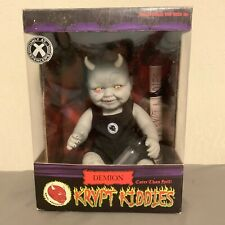Krypt Kiddies Series 1 Demion Demon Baby Horror Evil Living Dead Doll Rare Mint