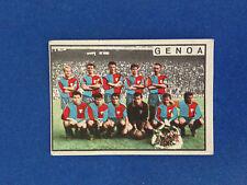 FIGURINA CALCIATORI PANINI STICKERS 1963/64 SQUADRA GENOA NUOVA
