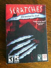 Scratches (PC, 2006) Director's Cut Game of the Year PC Computer CD Video Teen