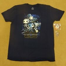 Funko Pop Smugglers Bounty Exclusive Star Wars Resistance T-Shirt L Pin Patch