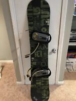 Burton Cruzer 159 (with Bindings And Boots) (Read Description)