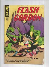 Flash Gordon #2 King Charlton Gold Key 1966 series, 5.5 FN-