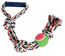 Juguete cuerda mango/pelota 50cm