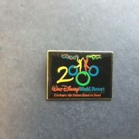 Celebrate The Future Hand in Hand 2000 Dancers Rectangle - Disney Pin 1