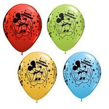 "10 pc 11"" Disney Mickey Mouse Latex Balloon Party Decoration Happy Birthday Boy"