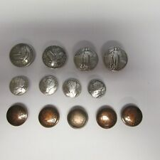 Lot of 13  US Coins Tandy Conchos