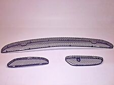 00-02 Mercedes W220 S500 S55 AMG Front Bumper Cover Center Grille Grill Set USED