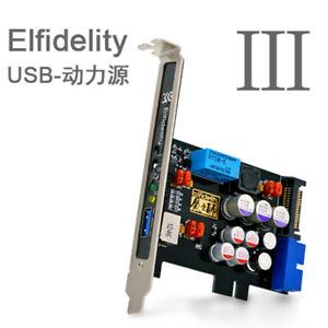Elfidelity AXF-100 USB Power Source HiFi Interface Preamp Internal Filter