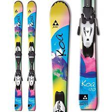 2015 Fischer KOA 120cm Jr skis with FJ4 AC Rail bindings A20714
